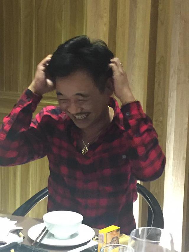 Diễn viên Quốc Khánh - nghệ sĩ đảm nhiệm vai Ngọc Hoàng trong chương trình Táo quân