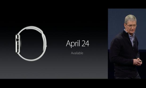 Apple Watch được phát hành chính thức từ ngày 24/4/2015