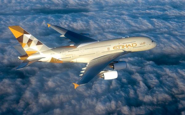 Hãng hàng không quốc gia của Abu Dhabi (Các Tiểu Vương quốc Ả Rập Thống nhất) Etihad Airways xếp vị trí thứ 6