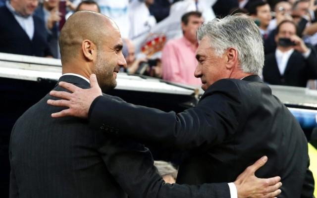 HLV Ancelotti sẽ thay thế Pep tại Allianz Arena.