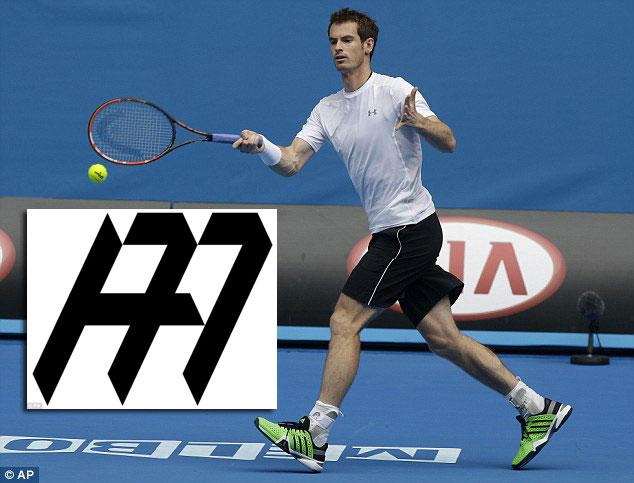Andy Murray và mẫu logo mới