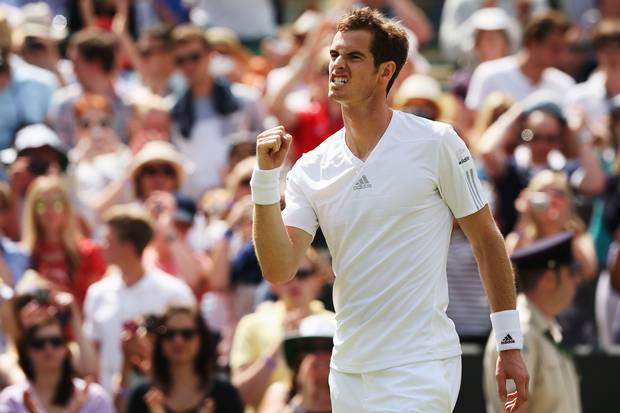 Murray có sự hậu thuẫn lớn từ khán giả nhà