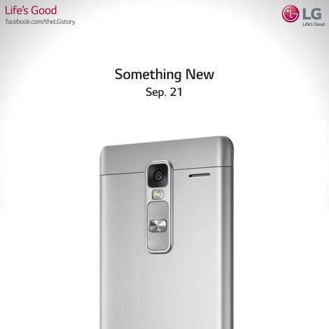 LG tung hình ảnh báo hiệu sẽ ra mắt sản phẩm mới vào ngày 21/9