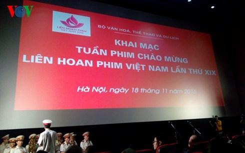 Khai mạc tuần phim chào mừng Liên hoan phim Việt Nam lần thứ 19 (Ảnh: Diệu Linh)