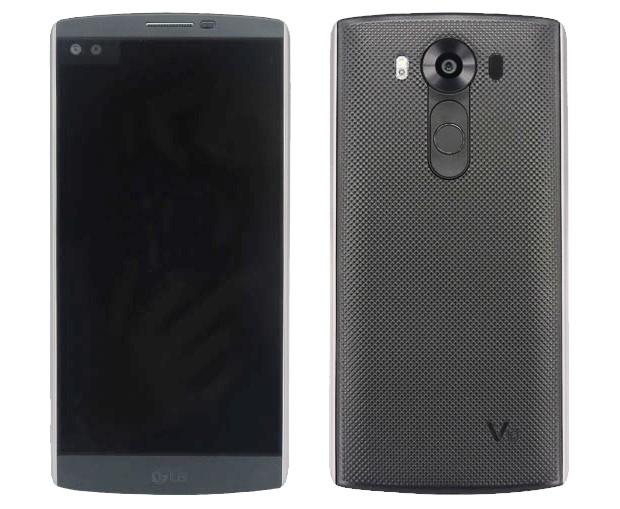 Hình ảnh rò rỉ của chiếc LG V10