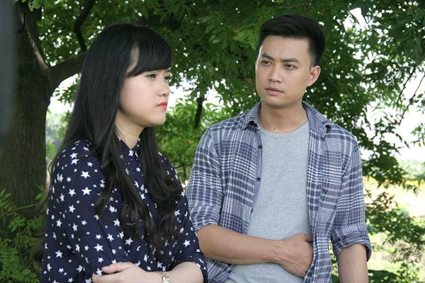 Thanh Hoa và Tiến Lộc trong phim Câu hỏi số 5.