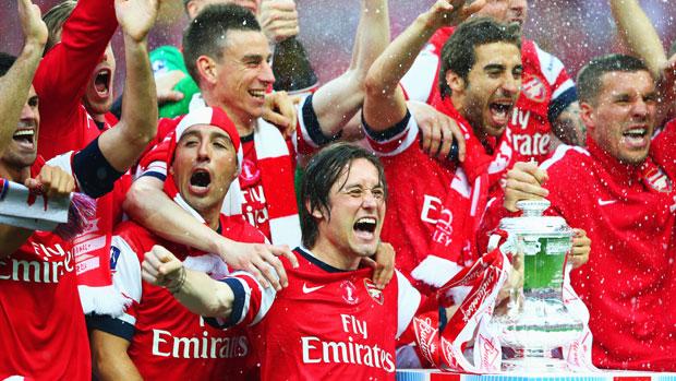Arsenal đang là đương kim vô địch của FA Cup