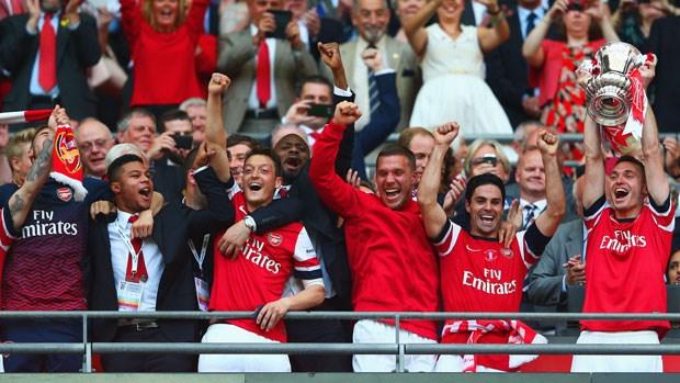 Arsenal là CLB Anh duy nhất có mặt trong Top 10 theo thống kê của IFFHS