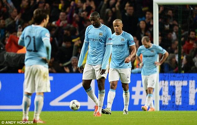 Man City vừa trải qua một cơn ác mộng mang tên Barcelona