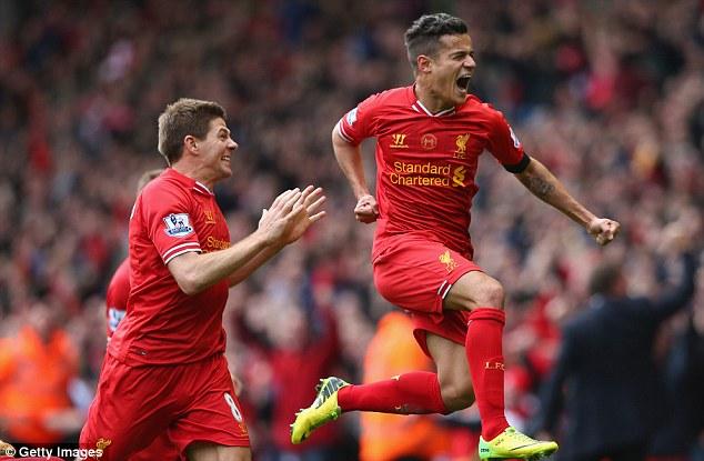 Philippe Coutinho sẽ gắn bó với Liverpool đến năm 2020?