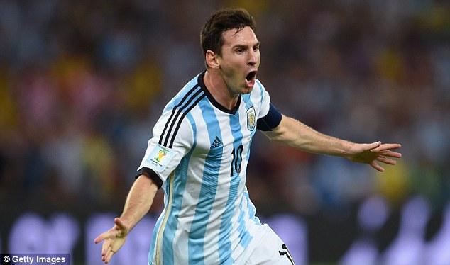 Đội tuyển Argentina của siêu sao Messi sẽ xuất quân vào sáng mai 14/6