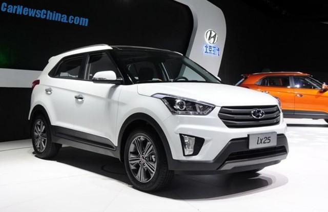 Hyundai sẽ phát triển thêm một mẫu crossover cỡ nhỏ khác bên cạnh ix25 mới
