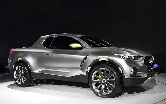Hyundai Santa Cruz Concept tại triển lãm Detroit 2015