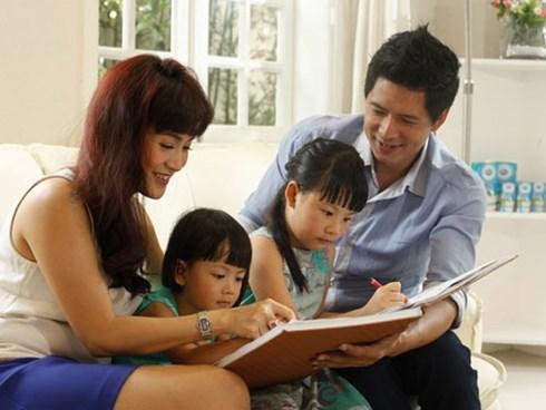 Gia đình hạnh phúc của Bình Minh - Ảnh: NVCC