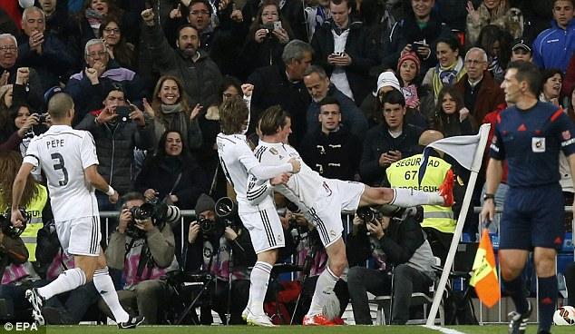 Bale là ngôi sao hiếm hoi trên hàng công của Real Madrid dường như đã tìm lại duyên ghi bàn.