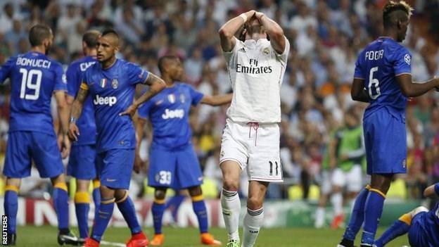 Gareth Bale đã bỏ lỡ khá nhiều cơ hội ngon ăn trong trận lượt về với Juventus