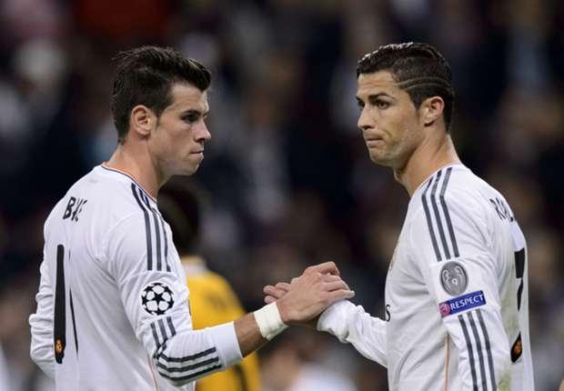 Bale và Ronaldo khiến HLV Ancelotti hoàn toàn hài lòng.