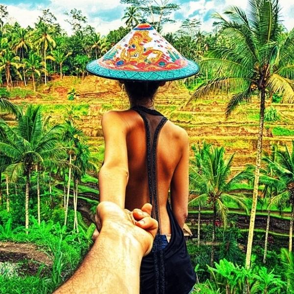 Những cánh đồng lúa ở Bali, Indonesia