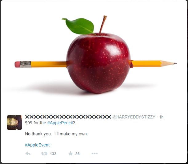 Với mức giá 99 USD, một số người dùng đã chọn giải pháp tự chế cho mình chiếc bút chì mang thương hiệu Táo