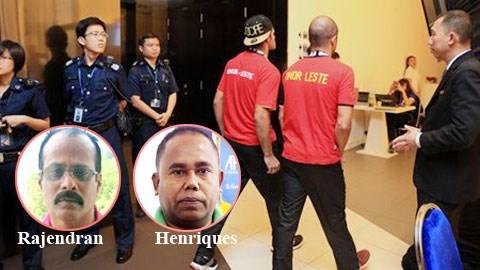 Các nghi can chính của vụ án đã bị tạm giữ để phục vụ điều tra.
