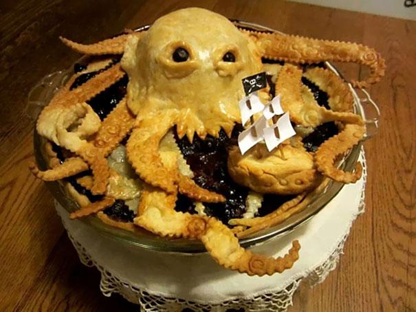 Bánh mang phong cách Cướp biển Caribbean.