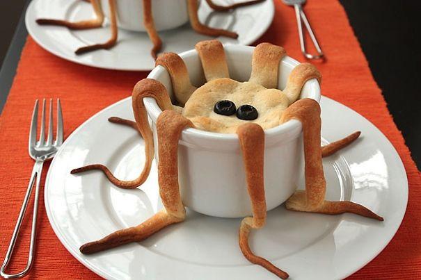 Ý tưởng thú vị với bánh bạch tuộc.
