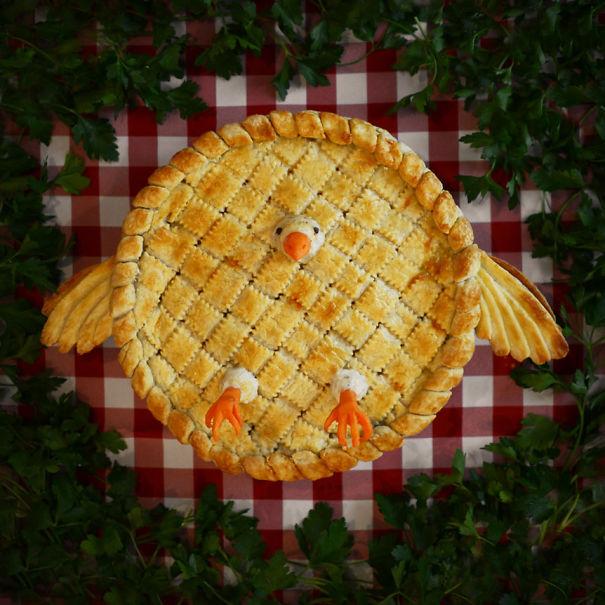 Làm bánh cũng là cách bạn thỏa sức thể hiện ý tưởng sáng tạo của riêng mình.