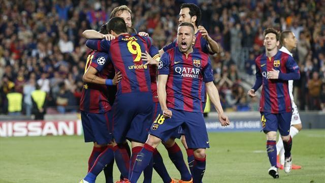 Barcelona trở lại mạnh mẽ ở giai đoạn cuối mùa giải để giành cú ăn 3.