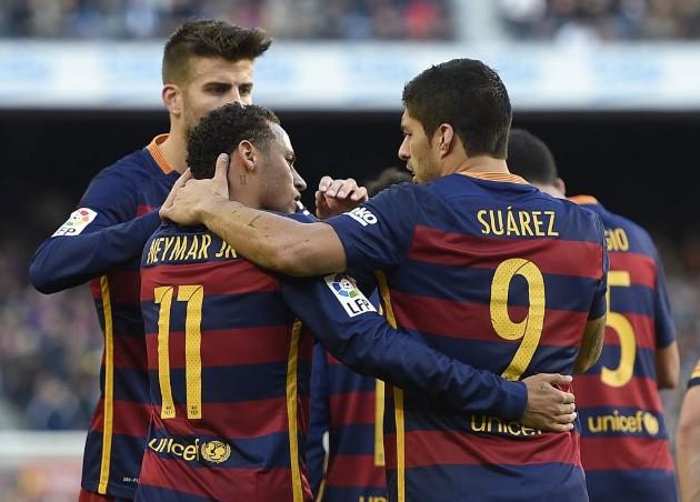 Messi khép lại ngày thi đấu thành công của bộ ba MSN nói riêng và Barca nói chung bằng bàn thắng thứ 4.