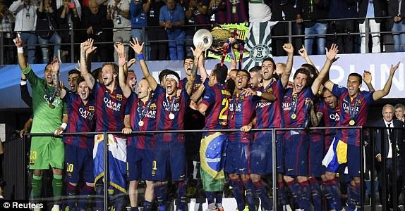 Barca đã lên đỉnh châu Âu, xuất sắc giành cú ăn ba mùa này và trở thành CLB đầu tiên hai lần thây tóm cú ăn ba trong lịch sử.