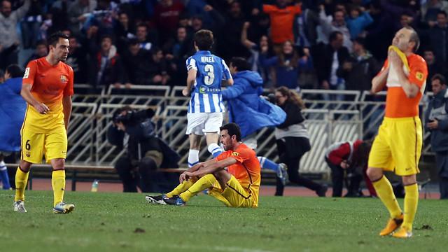 Barca chưa từng thắng Sociedad trong 4 lần chạm trán gần nhất.