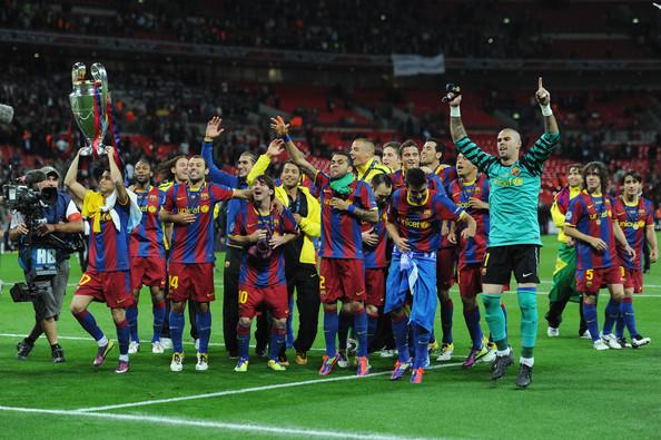Man Utd từng để thua Barcelona trong cả 2 trận chung kết Champions League ở các mùa 2008/09 và 2010/11