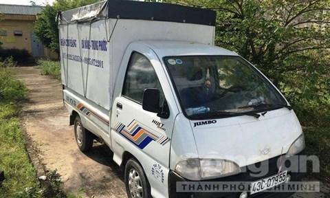 Xe ô tô tải phục vụ cho việc trộm bò.