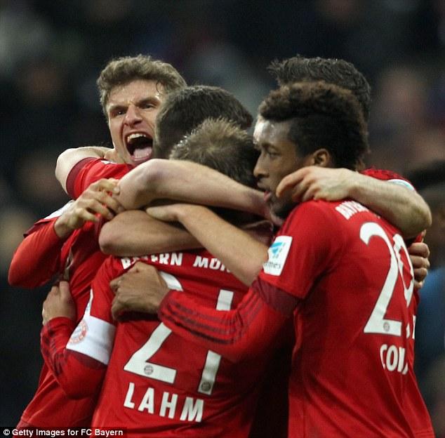 Bayern từng thắng Juve cả hai lượt trận ở tứ kết Champions League 2012/13.