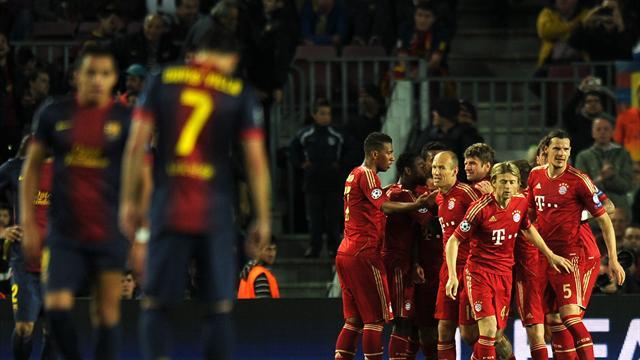 Bayern thường gieo sầu cho Barca mỗi khi đụng độ.