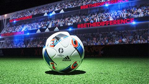 Trái bóng chính thức của Euro 2016 có tên Beau Jeu.