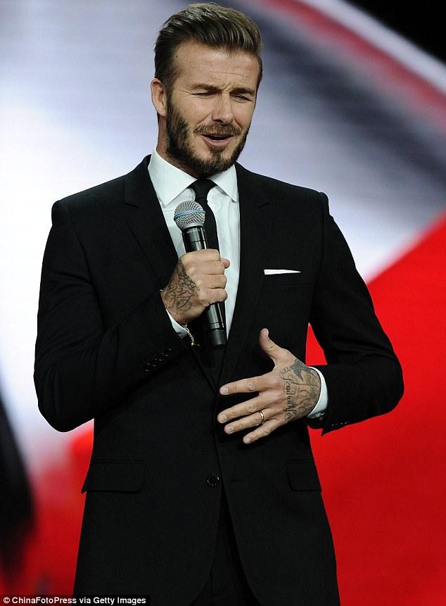 Beckham bày tỏ vui mừng khi được trở lại Thượng Hải.