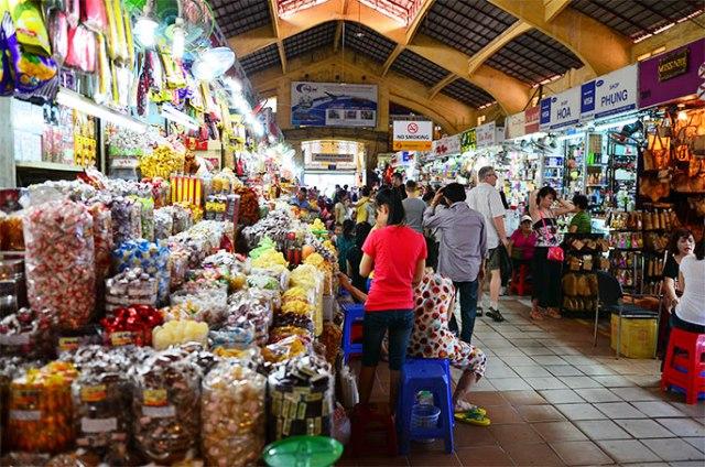 Chợ Bến Thành, TP.HCM.