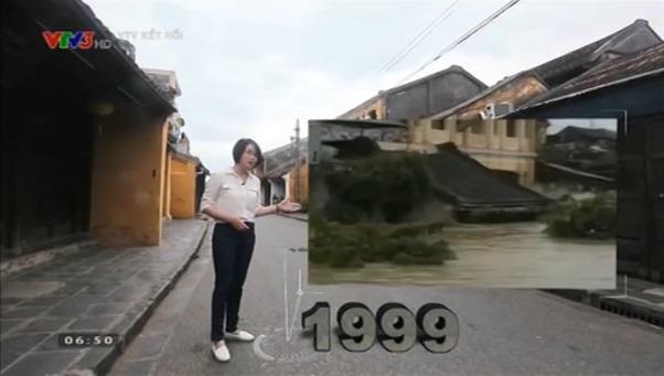 Đô thị cổ Hội An là địa điểm thực hiện phim tài liệu Tác động của biến đổi khí hậu tới di sản văn hóa Hội An của Trung tâm Truyền hình Thời tiết và Cảnh báo thiên tai, Đài THVN