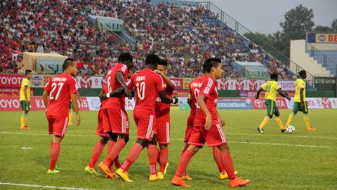 Đương kim vô địch B.Bình Dương sẽ có chuyến làm khách trên sân QNK Quảng Nam tại vòng 2