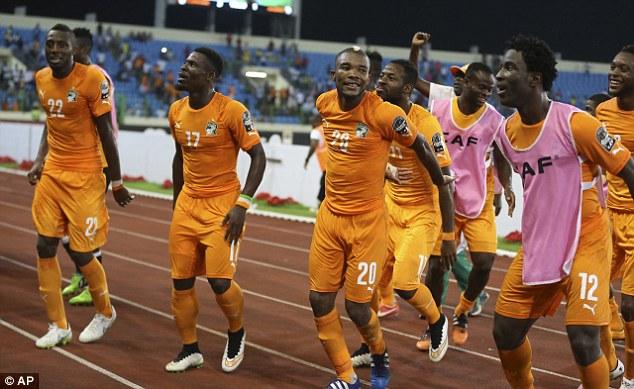 Các cầu thủ Bờ Biển Ngà đã có tên ở bán kết CAN 2015.