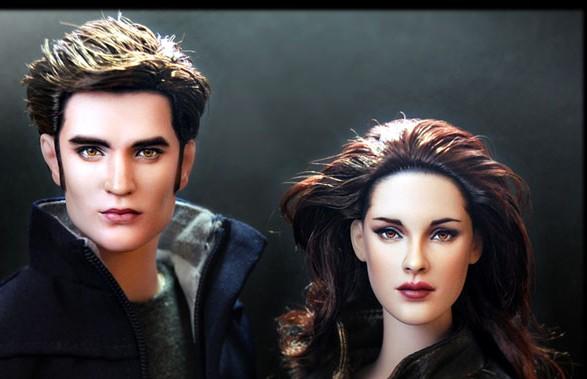 Cặp đôi nhân vật Edward và Bella trong phim Twilight