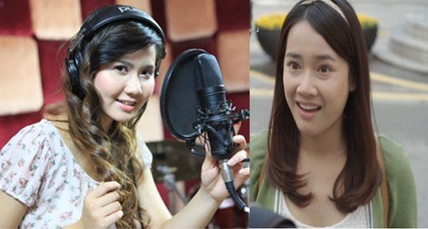 Huyền Lizze lồng tiếng cho Nhã Phương trong phim Tuổi thanh xuân.