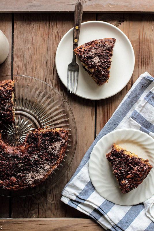Cà phê còn trở thành nguyên liệu để làm món bánh socola - cà phê cực ngon.