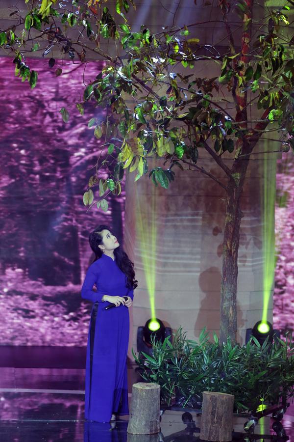 Hình ảnh cây vú sữa được tái hiện trong chương trình.