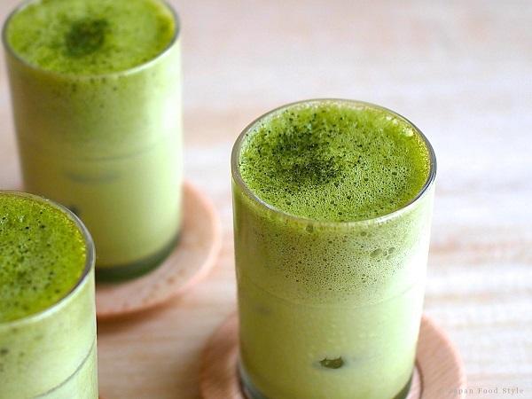 Lattle trà xanh sẽ đem lại cảm sáng tươi mới cho những ngày mưa gió. (Ảnh: vuilambep.com).