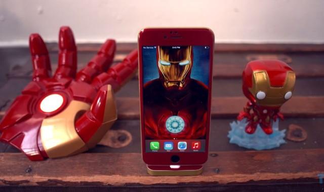 iPhone 6 phiên bản Iron Man