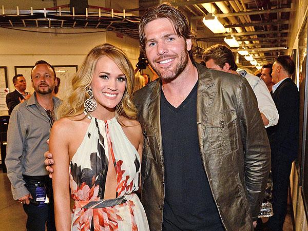 Carrie và chồng - VĐV Mike Fisher.