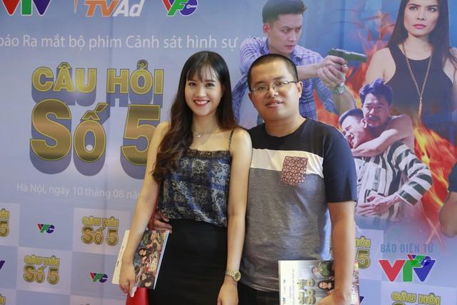 Diễn viên Thanh Hoa và chồng - đạo diễn Bùi Quốc Việt.