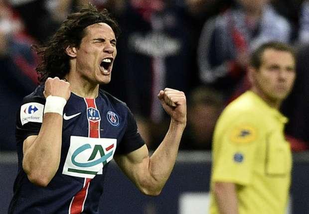 Cavani ghi bàn duy nhất giúp PSG giành Cúp QG Pháp.